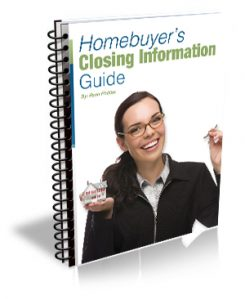 Homebuyers Closing Information Guide ebook