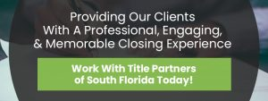 CTA - Providing Our Clients With A Professional Engaging And Memorable Closing Experience